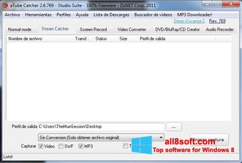 Screenshot aTube Catcher Windows 8