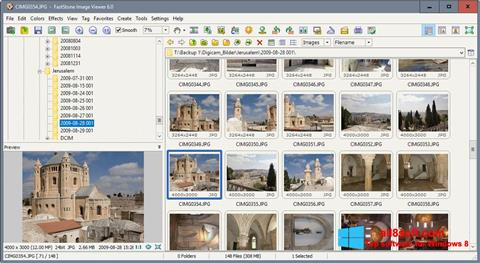 Screenshot FastStone Image Viewer Windows 8
