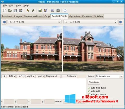 Screenshot Hugin Windows 8