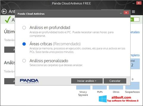 Screenshot Panda Cloud Windows 8