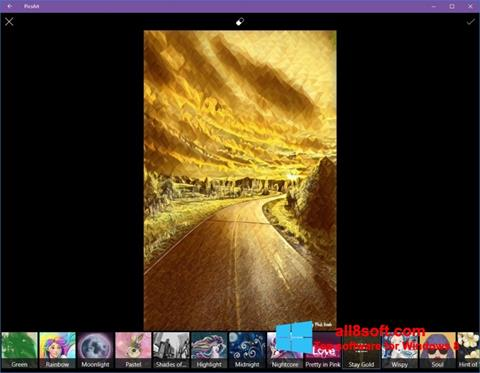Screenshot PicsArt Windows 8
