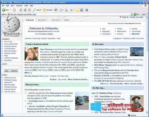 Screenshot Internet Explorer Windows 8