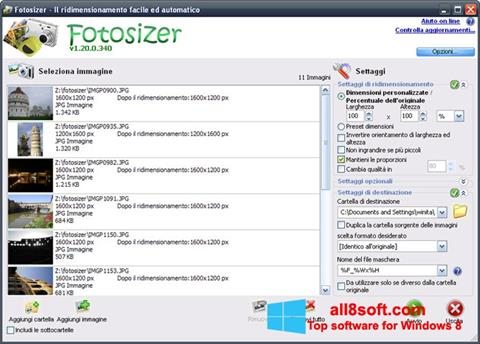 Screenshot Fotosizer Windows 8