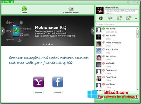 Screenshot ICQ Windows 8