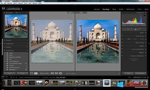Screenshot Adobe Photoshop Lightroom Windows 8
