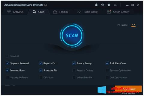 Screenshot Advanced SystemCare Windows 8