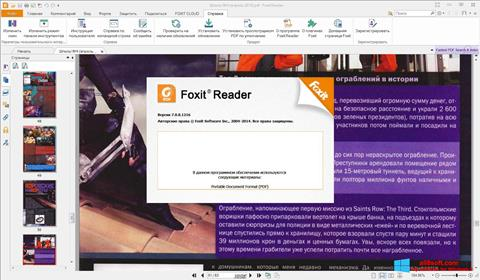 Screenshot Foxit Reader Windows 8