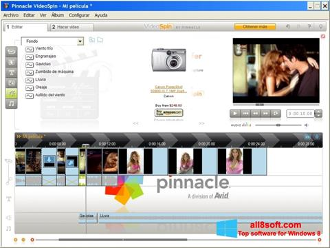Screenshot Pinnacle VideoSpin Windows 8