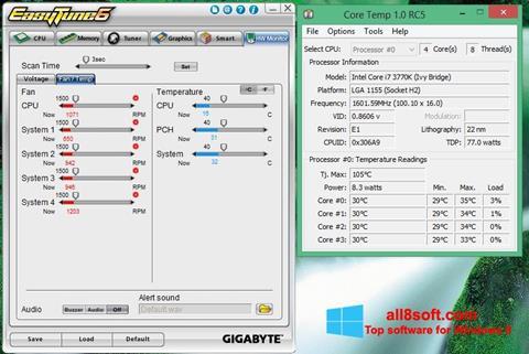 Screenshot EasyTune Windows 8