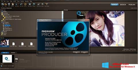 Screenshot ProShow Producer Windows 8