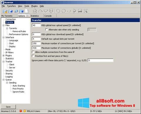 Screenshot Vuze Windows 8