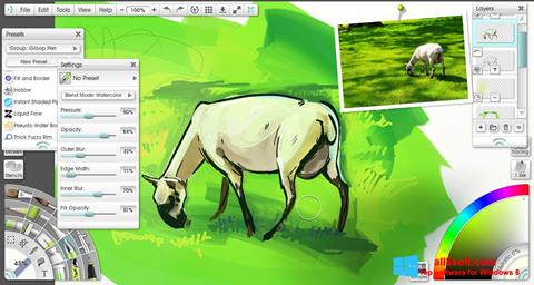 Screenshot ArtRage Windows 8