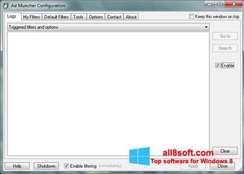 Screenshot Ad Muncher Windows 8