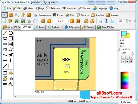 Screenshot PDF Reader Windows 8