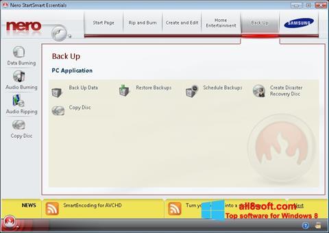 Screenshot Nero Windows 8